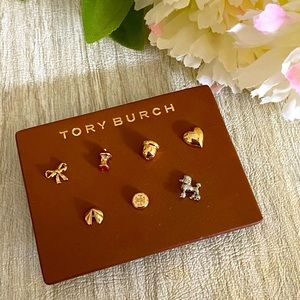 TORY BURCH Limited Edition Stud Earring Set